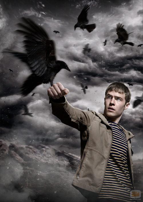 Paul (Iain De Caestecker) protagonista de 'The Fades'
