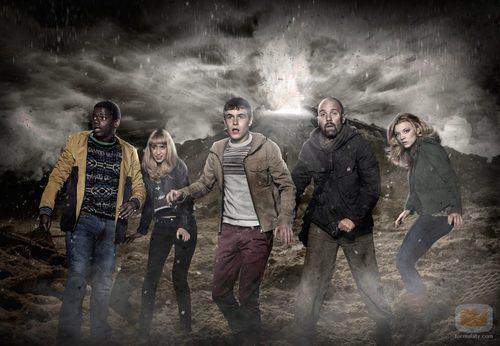Los protagonistas de 'The Fades' la nueva apuesta de Syfy por el terror