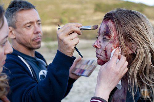 Imagen del rodaje de 'The Fades', la nueva apuesta de Syfy por el terror sobrenatural