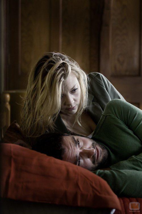 Natalie Dormer en 'The Fades' donde encarna a Sarah, una mujer con poderes sobrenaturales