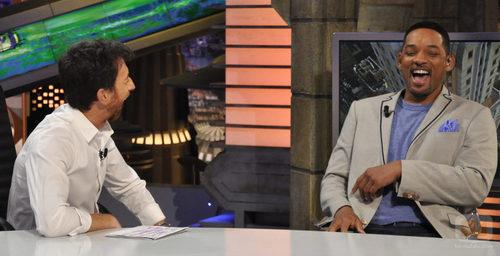 Will Smith y Pablo Motos ríen en 'El hormiguero'