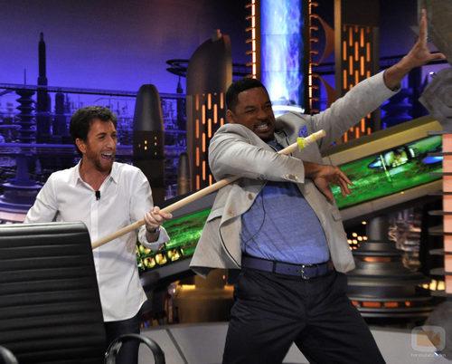 Pablo Motos y Will Smith se divierten en 'El hormiguero'