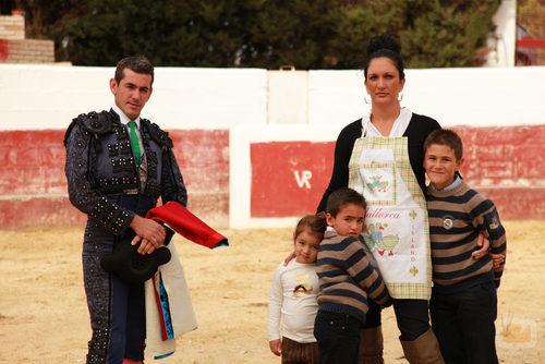 La familia de Estefanía