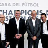 Acto de presentación de la Champions de Canal+