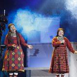 Las abuelitas rusas, Buranovskiye Babushki, en Eurovisión 2012