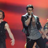 Tooji, de Noruega, en Eurovisión 2012