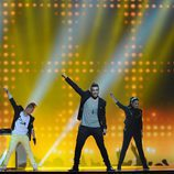 Kurt Calleja en Eurovisión 2012
