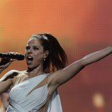Pastora Soler en la final de Eurovisión 2012