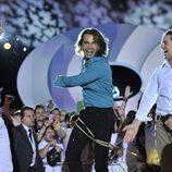 Pepe celebra con David Bisbal su victoria en 'Gran Hermano 12+1'