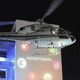 El helicóptero del ganador de 'Gran Hermano 12+1' llega a Telecinco