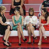Mercedes Milá habla con Marta, Ariadna y Sindia en la final de 'Gran Hermano 12+1'