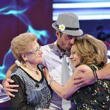 Alessandro se reencuentra con su familia en la final de 'Gran Hermano 12+1'