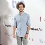 El actor Guillermo Barrientos en el estreno de '14 de abril. La República' e 'Isabel'