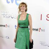 Carmen Conesa en el estreno en el Cine Capitol de 'Isabel' y '14 de abril. La República'