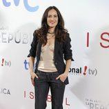 La actriz Ana Turpín en el estreno de 'Isabel' y '14 de abril. La República'