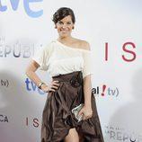 Mariona Ribas en el estreno de lo nuevo de '14 de abril. La República' e 'Isabel'