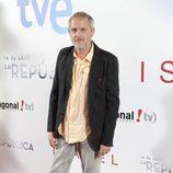 Jordi Rebellón en el estreno de 'Isabel' y lo nuevo de '14 de abril. La República'