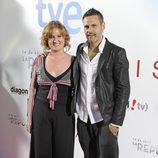 Ana Wagener y Roberto Enríquez en el estreno de '14 de abril. La República' e 'Isabel'