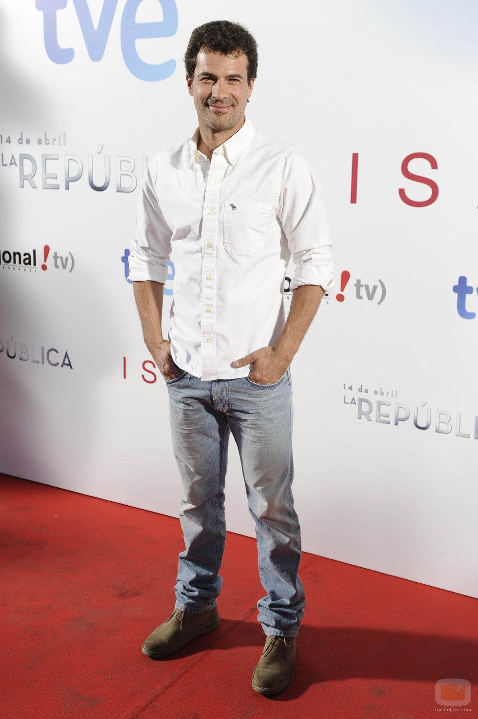 Rodolfo Sancho en el photocall de la premier de 'Isabel' y '14 de abril. La República'