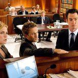 'Franklin & Bash' durante uno de los juicios de la serie