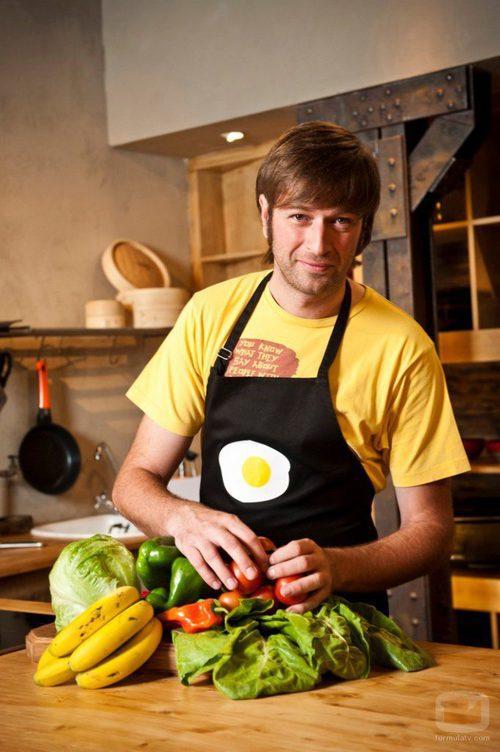 Julius, cocinero de 'Los 22 minutos de Julius'