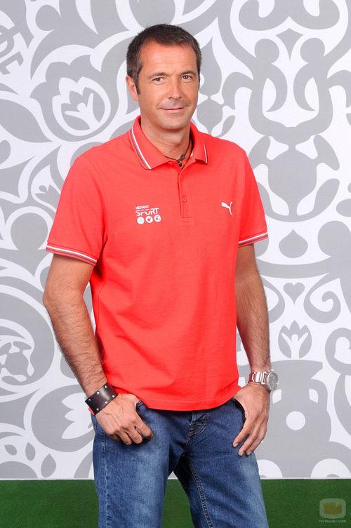 Manu Carreño es el narrador de la Eurocopa 2012
