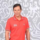Paco González es uno de los narradores de la Eurocopa 2012
