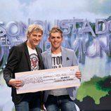 David Seco, ganador de 'El conquistador del fin del mundo' en la final del programa