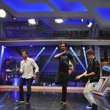 Justin Bieber baila con Pablo Motos y Marron