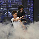 Justin Bieber se lo pasa en grande en 'El hormiguero'
