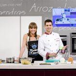 María José Molina y Sergio Fernández presentan 'Cocina con sergio'