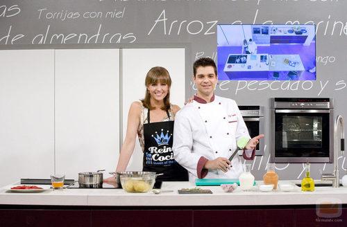 Mar a jos molina y sergio fern ndez presentan 39 cocina con - Cocina con sergio pepa ...