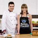 Sergio Fernández y María José Molina en 'Cocina con Sergio'