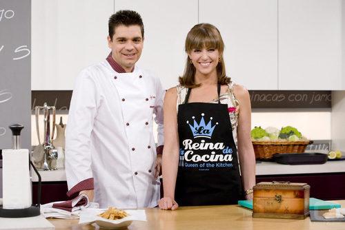 Sergio fern ndez y mar a jos molina en 39 cocina con sergio - Cocina con sergio pepa ...