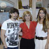 Adrián Lastra, Anabel Alonso y Nazaret Aracil de 'Stamos okupa2'