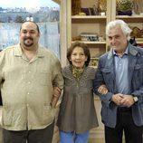 Juan Manuel Cifuentes, Alicia Hermida y Luis Marco
