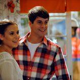 Sandra y Culebra sonríen en el capítulo final de la serie