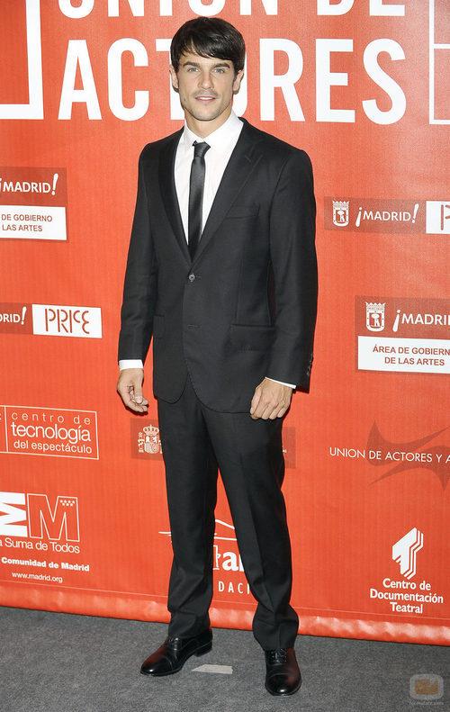 Alejo Sauras en los Premios de la Unión de actores 2012