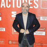Álex Angulo en los Premios de la Unión de Actores