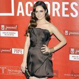 Alicia Sanz en la alfombra roja de los Premios de la Unión de Actores