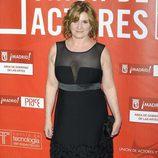 Ana Wagener en los Premios de la Unión de Actores