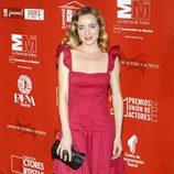 Ángela Cremonte en los Premios de la Unión de Actores 2012