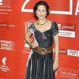 Esther Regina en los Premios de la Unión de Actores 2012