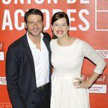 Félix Gómez y Mariona Ribas en los Premios de la Unión de Actores 2012