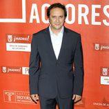 Luis Callejo en la alfombra roja de los Premios de la Unión de Actores 2012