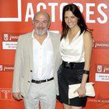 Jesús Bonilla y Ana Ruiz en los Premios de la Unión de Actores 2012