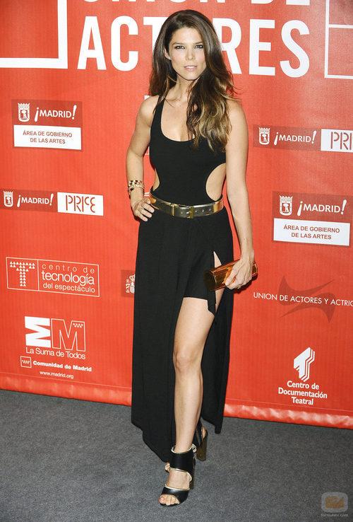 Juana Acosta en la edición XXI de los Premios de la Unión de Actores 2012