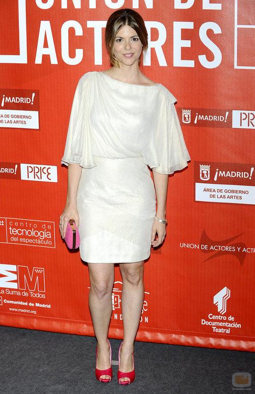 Manuela Velasco en los Premios de la Unión de Actores 2012