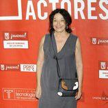 Petra Martínez posa en los Premios de la Unión de Actores 2012