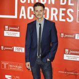 Raúl Arévalo en los Premios de la Unión de Actores 2012